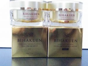 ビハクエン二種類のクリーム